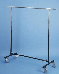 Single Garment Rack with Large Caster