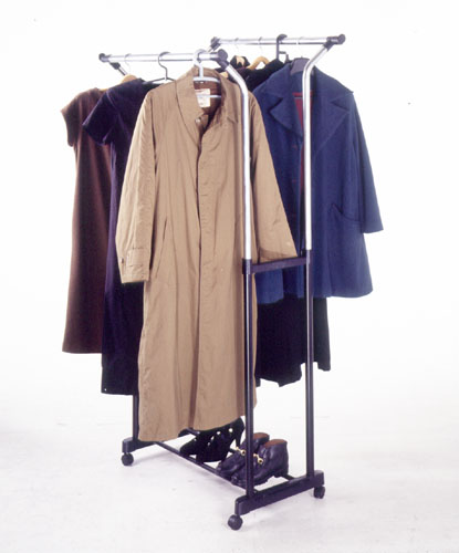 New Double K/D Garment Rack